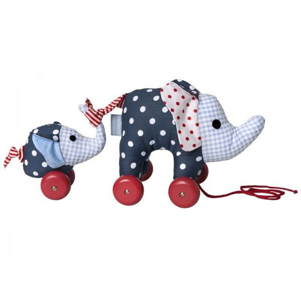Baby Pull Toy Franck & Fischer Noah Elephant