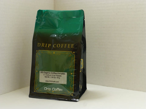 DG Organic Drip Coffee Sampler