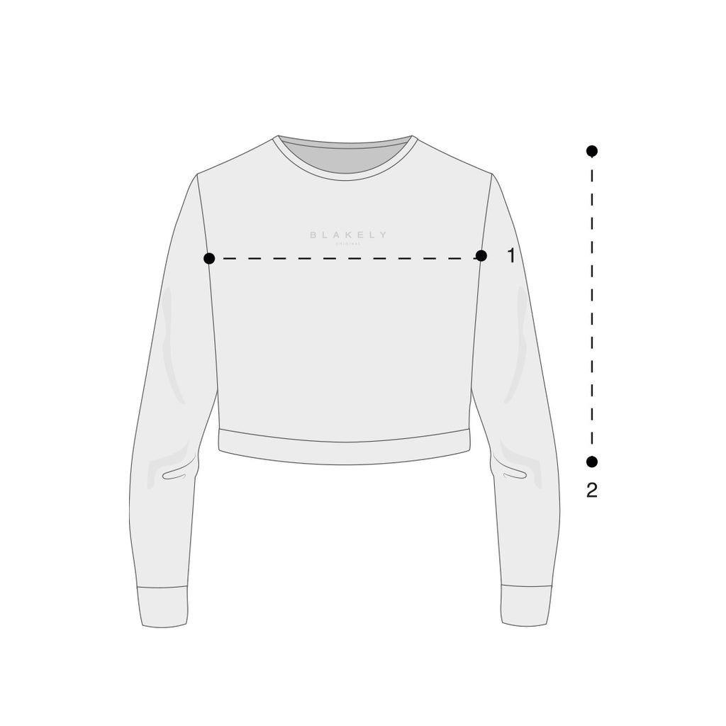 Womens Cropped Jumpers Size Guide