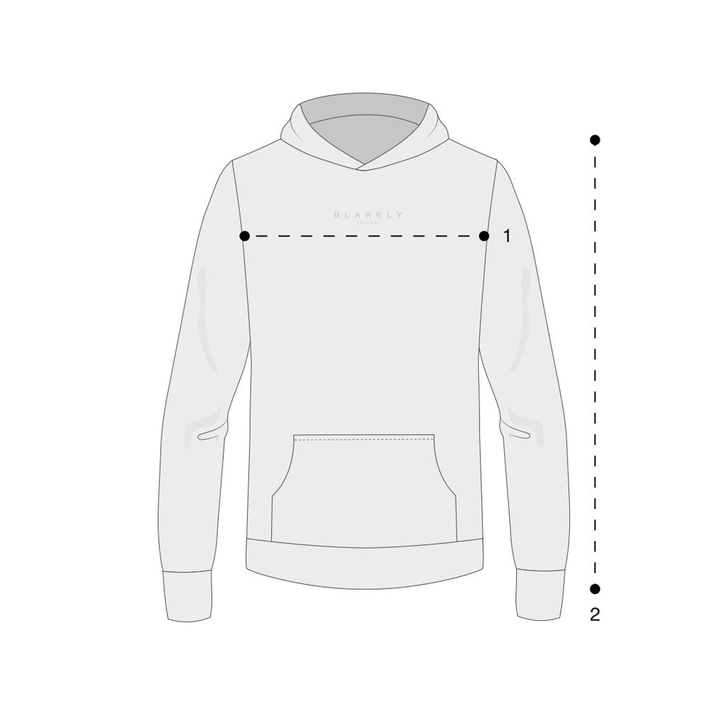 Womens Oversized Hoodies Size Guide