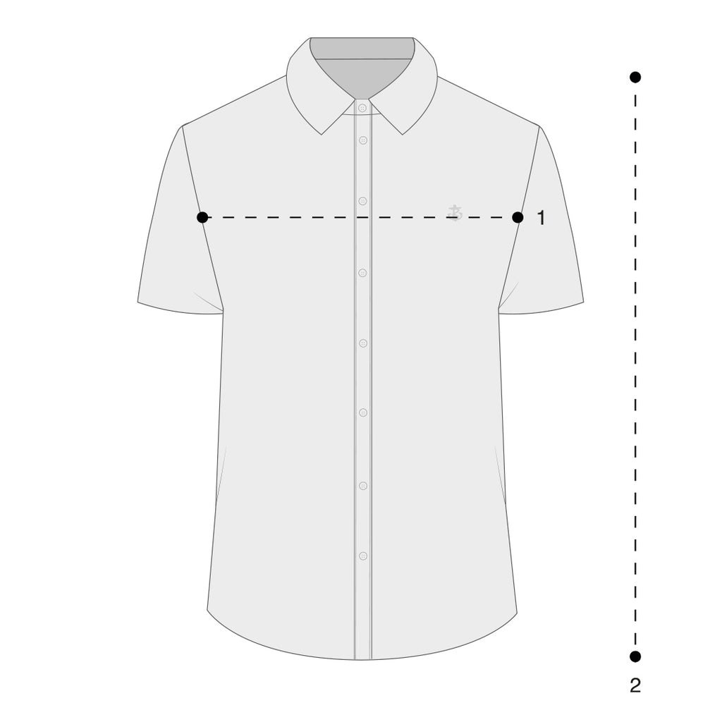 Mens Short Sleeve Shirts Size Guide