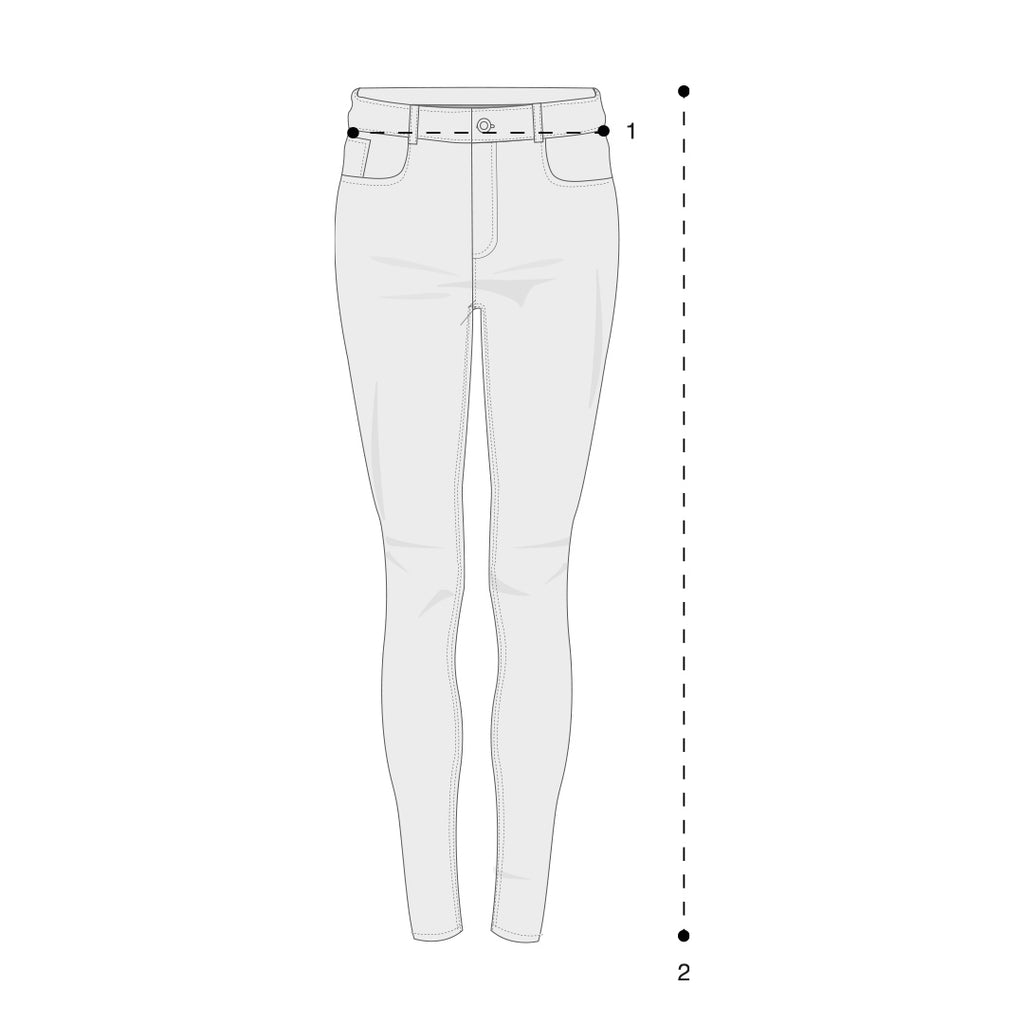 Womens Jeans Size Guide
