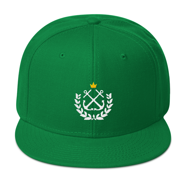 Kelly Wreath Snapback