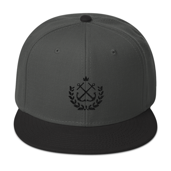 black wreath tt snapback