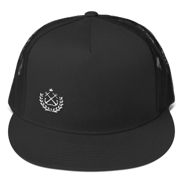 White Laurel Trucker Cap