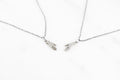 Votive friendship necklaces - silver