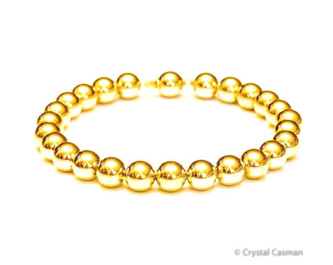 14k Gold Bracelets Rose White or Yellow Gold Crystal Casman