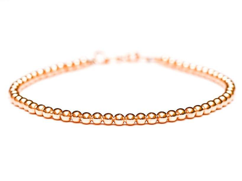 Fine Jewelry Womens 14K Gold Chain Bracelet Fgxl6v4Z3