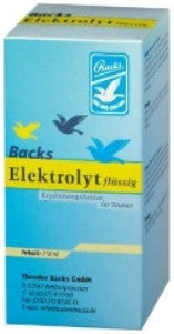 Backs electrolyte, liquid