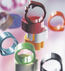 Colour Clip Rings