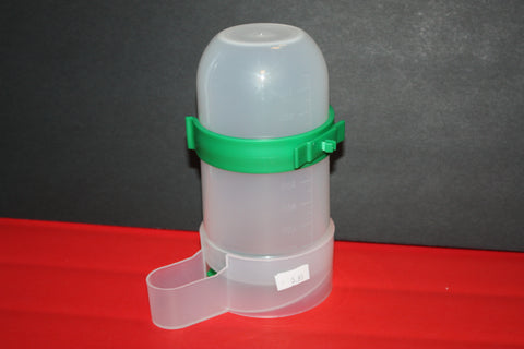Dual-purpose feeder and water