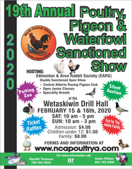 A: Join us at the 2020 Wetaskiwin Show February the 15&16