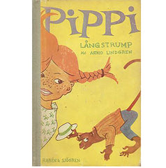 First Edition of Pippi Longstocking