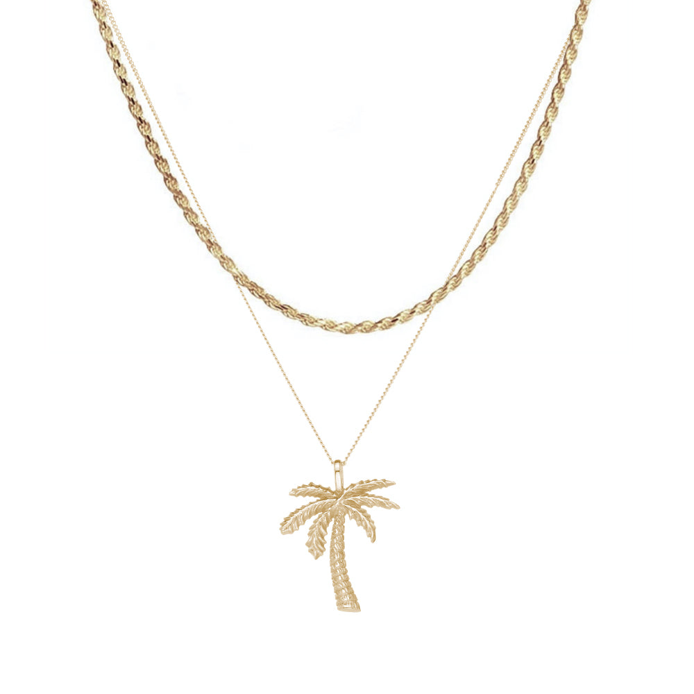 Palm Tree Pendant Rope Layer