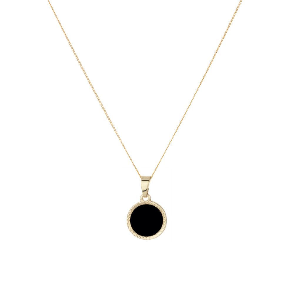 Mini Onyx Medallion