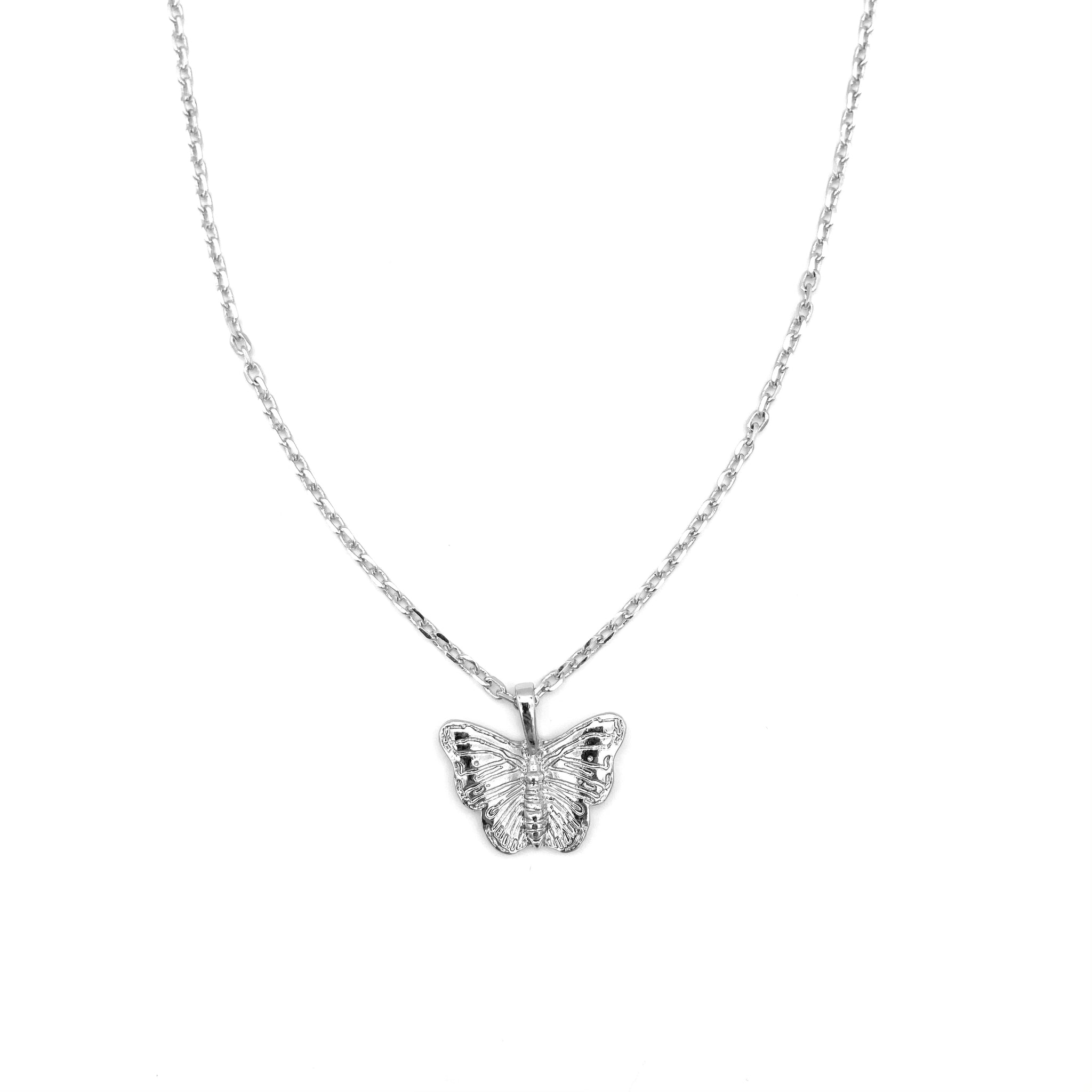 Butterfly Pendant Chain