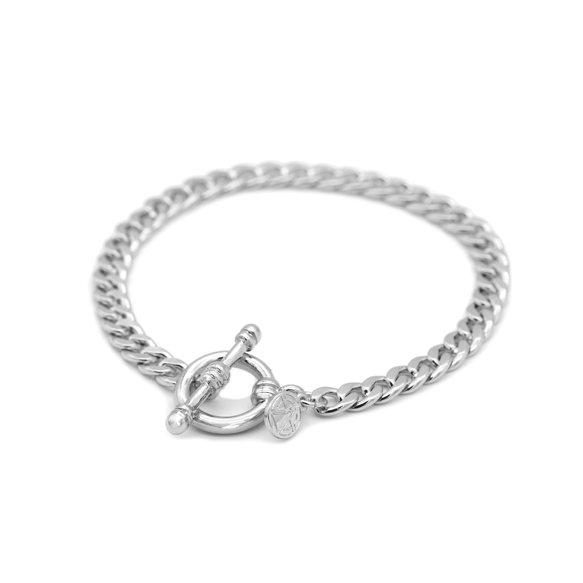 Mini Curb T-Bar Bracelet