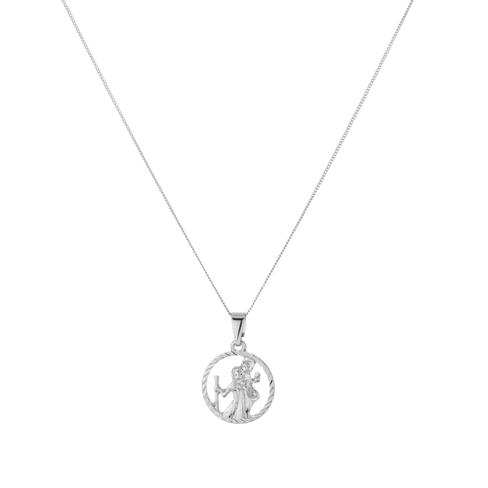 St Christopher Cut Out Medallion