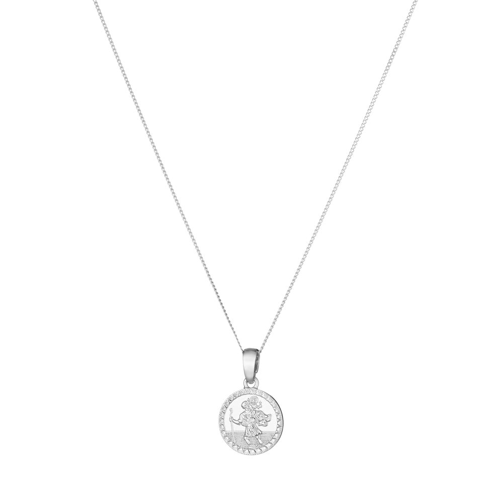 Mini St Christopher Medallion