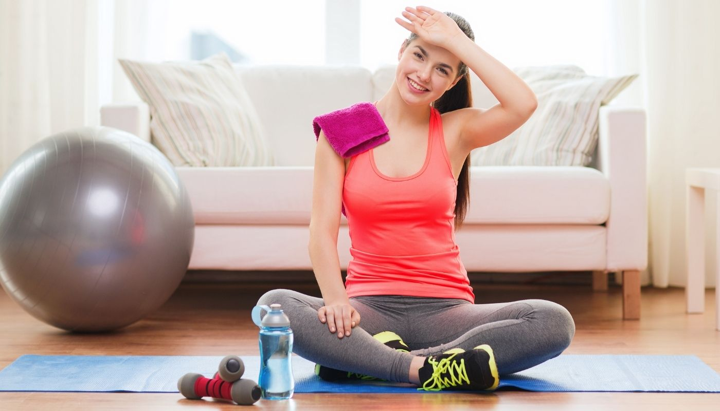 Healthy exercise program to lose weight