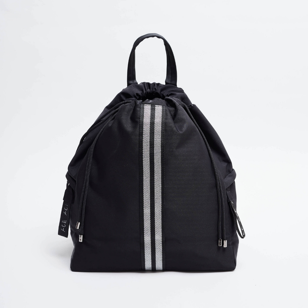 ACE Bagpack color Black made with ECONYLu00ae regenerated nylon