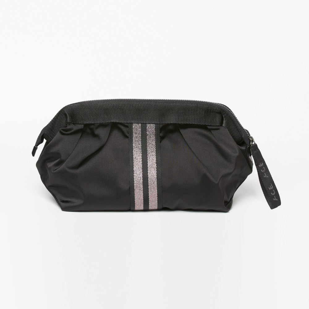 ACE Cosmetic Bag color Black made with ECONYLu00ae regenerated nylon