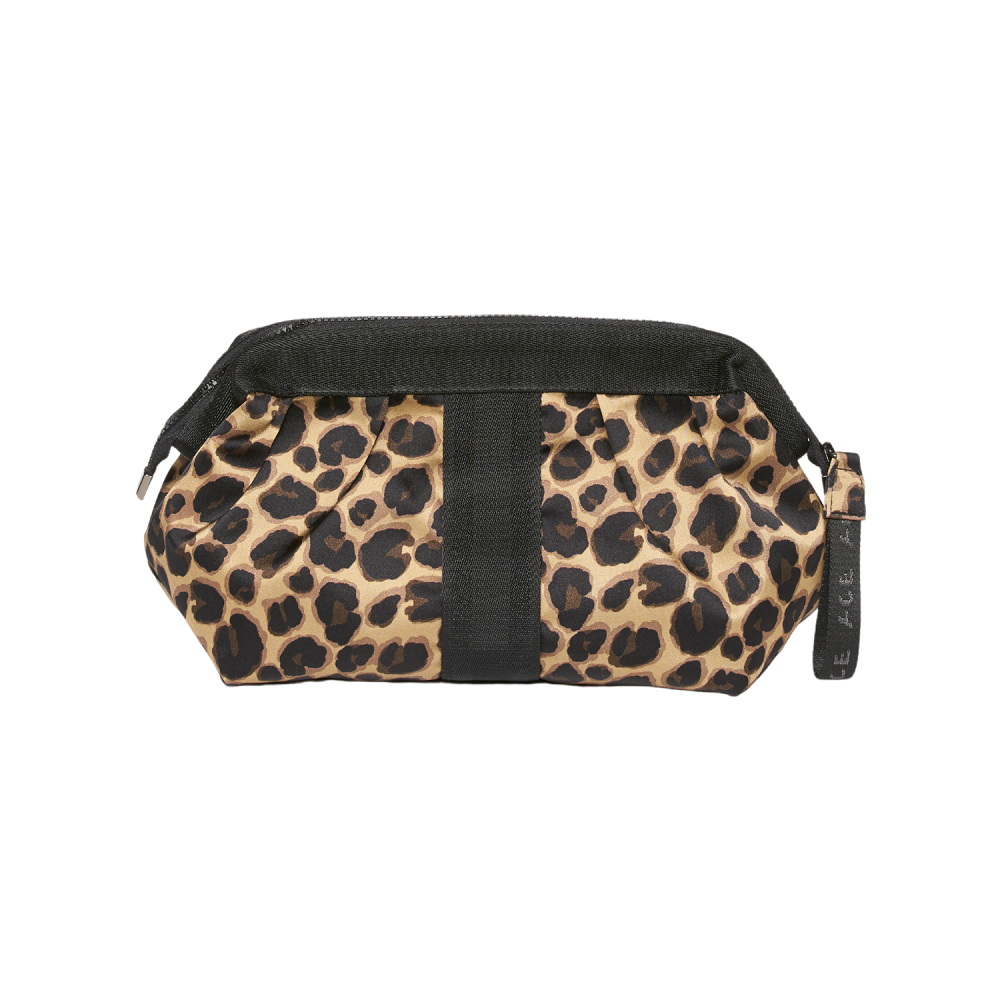 ACE Cosmetic Bag color Leopard made with ECONYLu00ae regenerated nylon