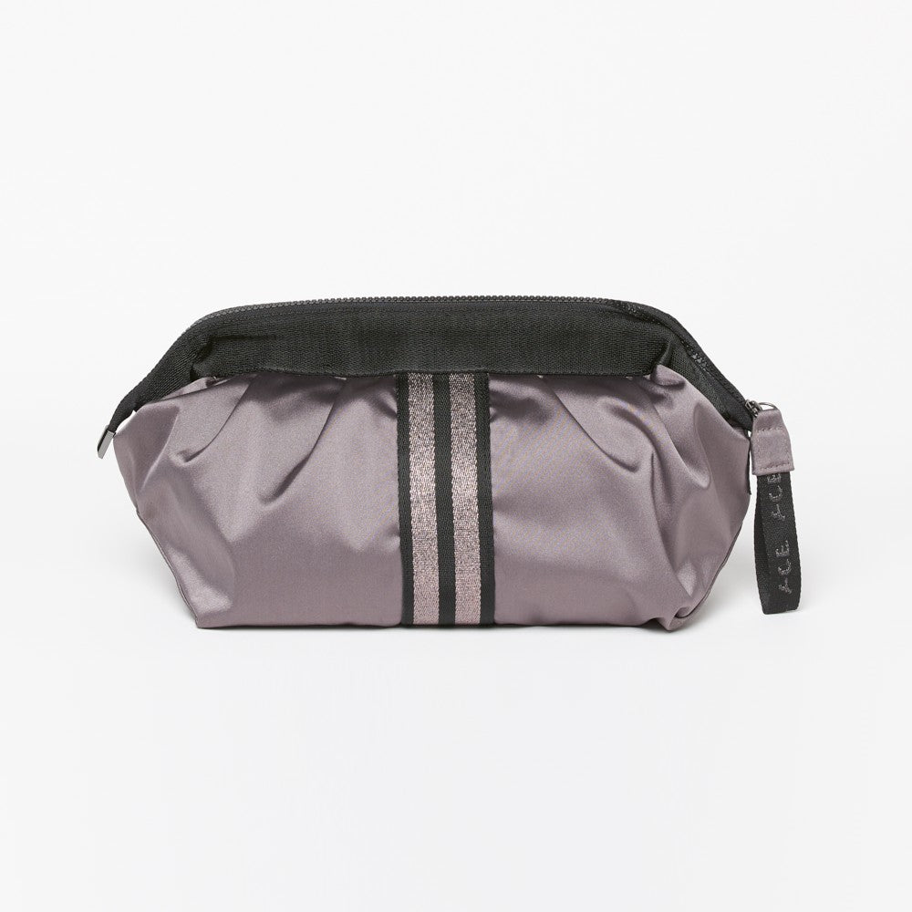ACE Cosmetic Bag color Mauve made with ECONYLu00ae regenerated nylon