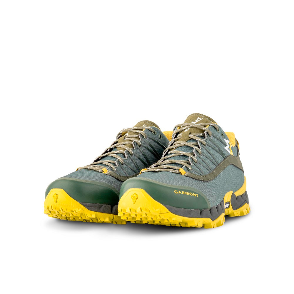 9.81 N.AIR.G 2.0 GTX Man Shoes Garmont Footwear color Green made with ECONYLu00ae regenerated nylon