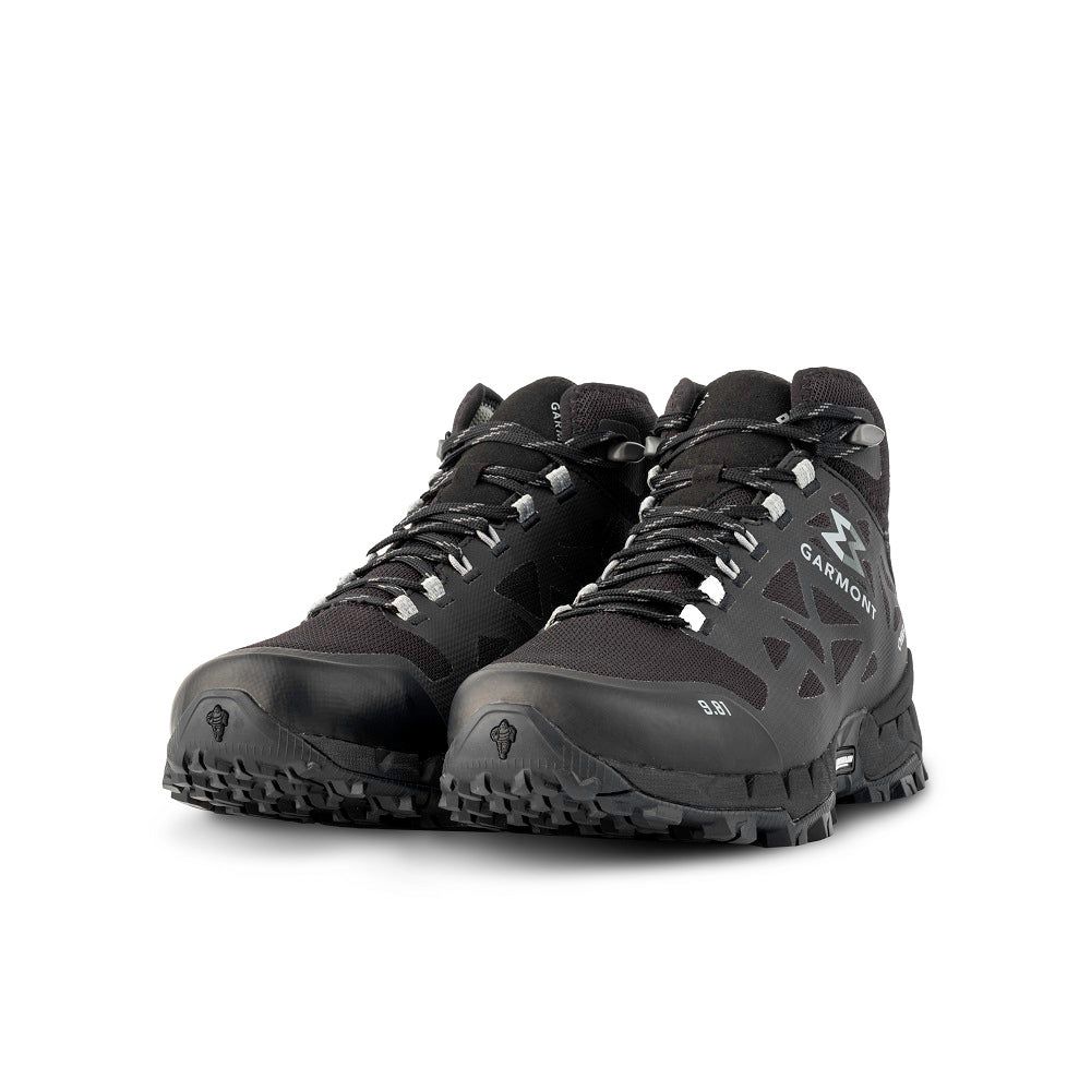 9.81 N.AIR.G 2.0 MID GTX Man Shoes Garmont Footwear color Black made with ECONYLu00ae regenerated nylon