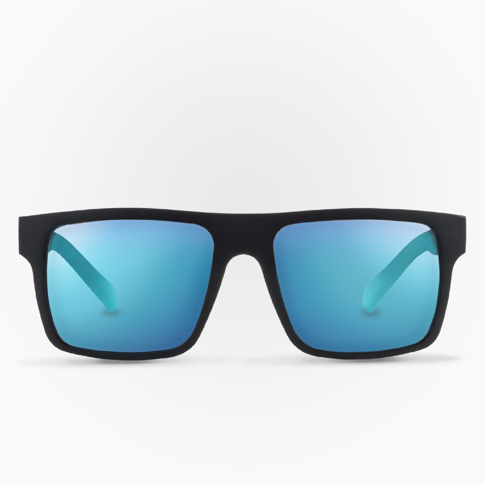 Sunglasses Octay Karun color Black and Blue made with ECONYLu00ae regenerated nylon