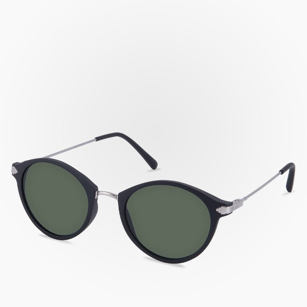 Side view of the Sunglasses Orca Karun color Black made with ECONYLu00ae regenerated nylon