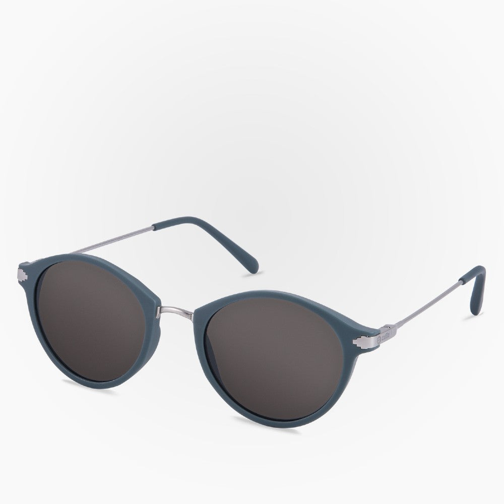 Side view of the Sunglasses Orca Karun color Blue made with ECONYLu00ae regenerated nylon