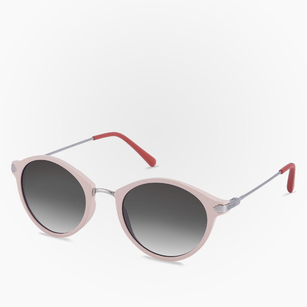 Side view of the Sunglasses Orca Karun color Pink made with ECONYLu00ae regenerated nylon