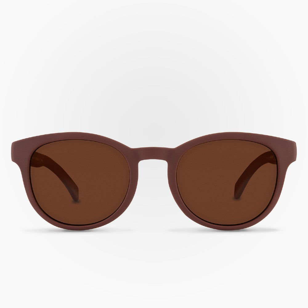 Sunglasses Puelo Karun color Brown made with ECONYLu00ae regenerated nylon