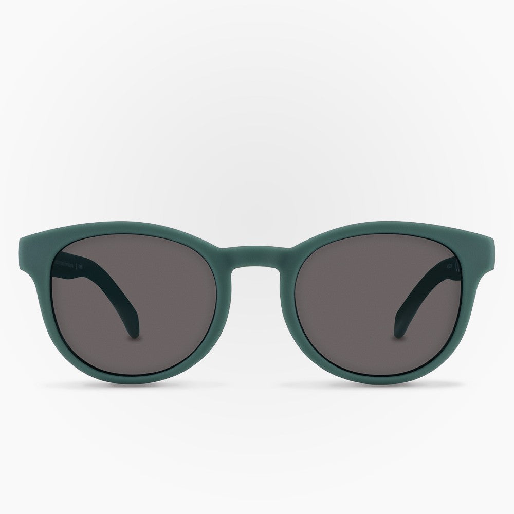 Sunglasses Puelo Karun color Green made with ECONYLu00ae regenerated nylon