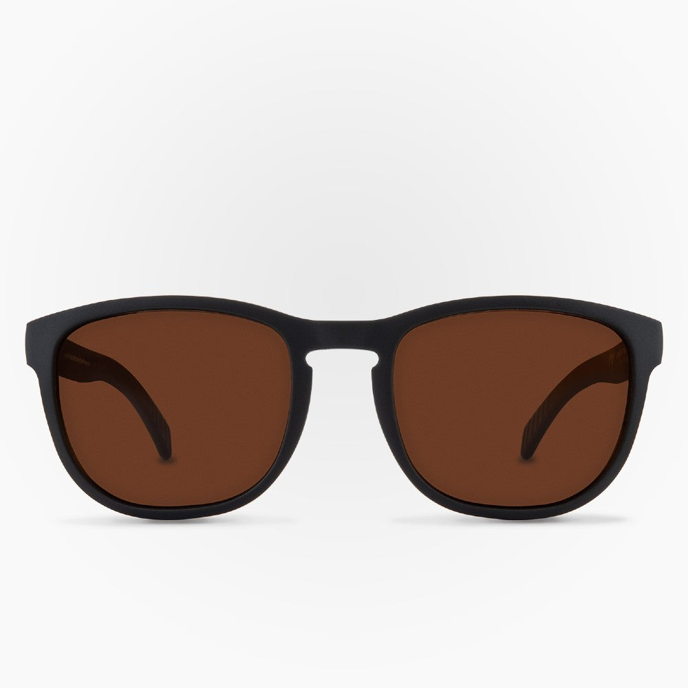 Sunglasses Tagua Tagua Karun color Black and Brown made with ECONYLu00ae regenerated nylon