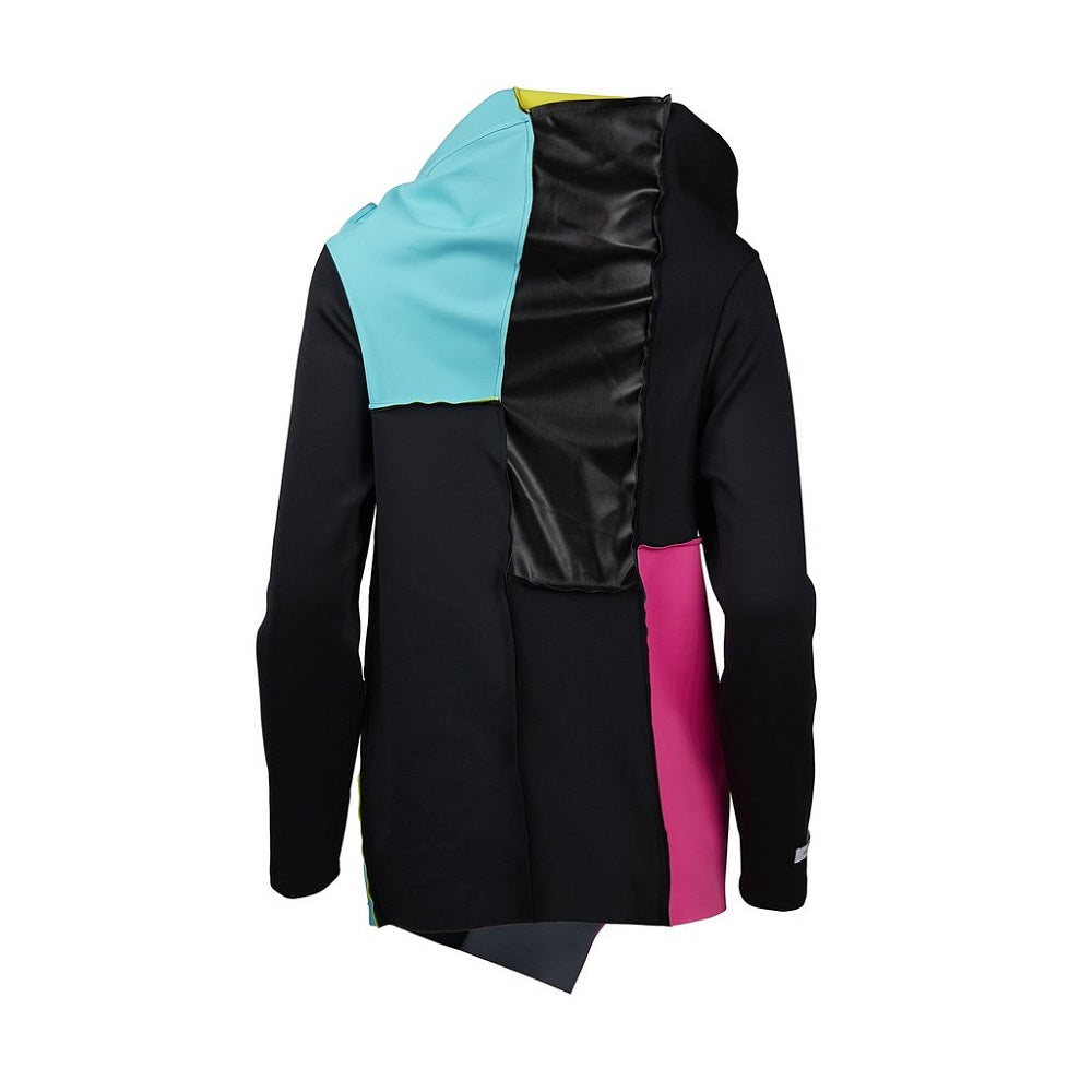 Back view of the Swatch Jacket Malaika New York made with ECONYLu00ae regenerated nylon
