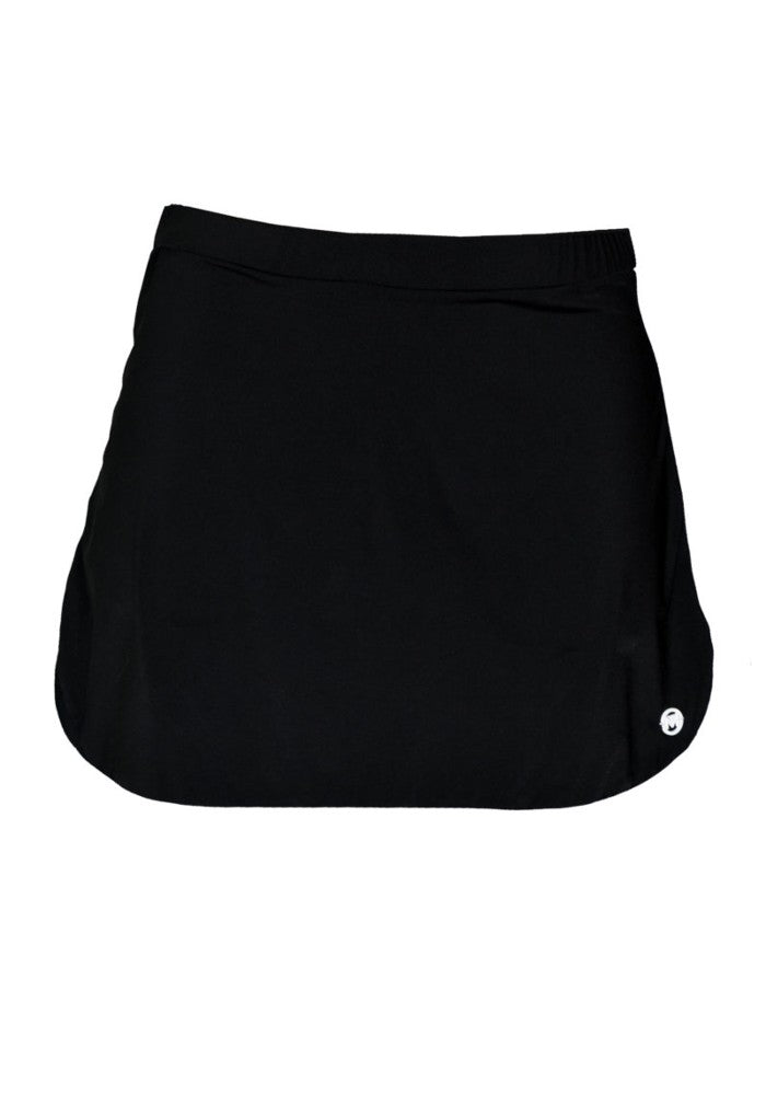 Short Skirt (Wonder Collection) Mermazing color Black and White made with ECONYLu00ae regenerated nylon