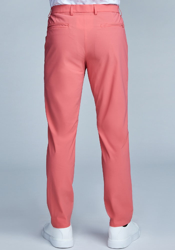 Back view of The Triton Pant State Of Matter color Canyon Rose made with ECONYLu00ae regenerated nylon