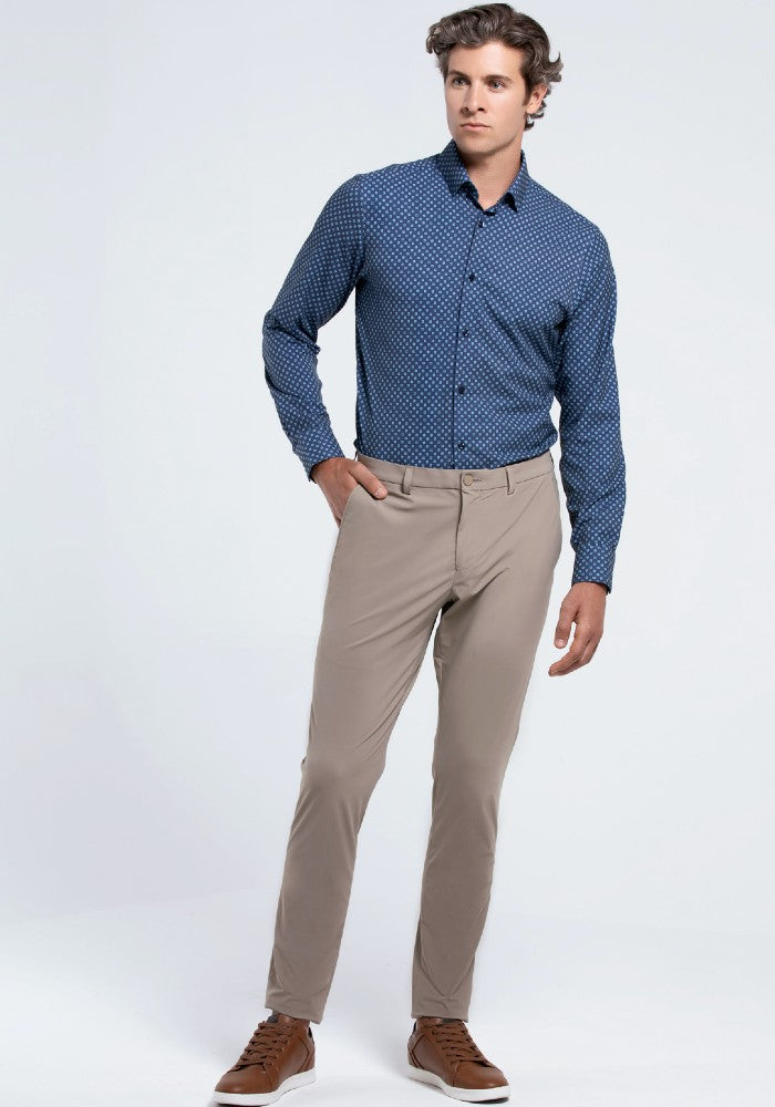The Triton Pant State Of Matter color Sand made with ECONYLu00ae regenerated nylon