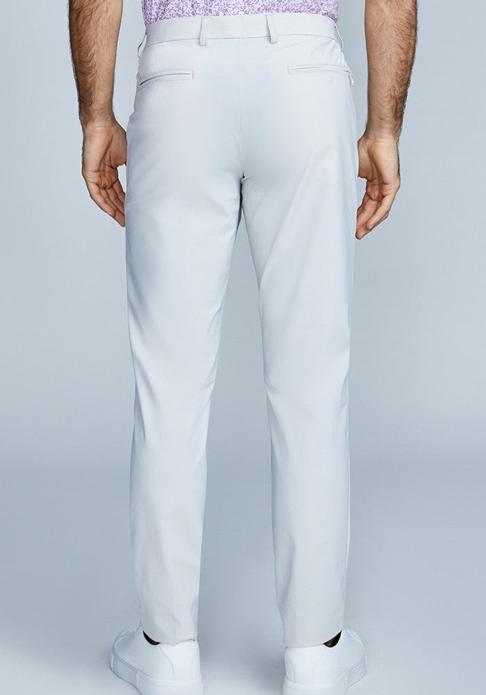 Back view of The Triton Pant State Of Matter color Stone made with ECONYLu00ae regenerated nylon