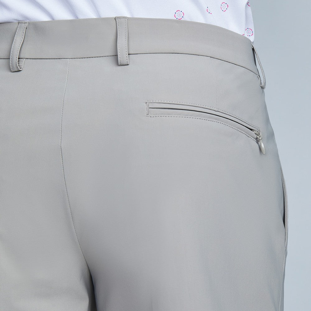 Detail of The Triton Short Pant State Of Matter color Sand made with ECONYLu00ae regenerated nylon