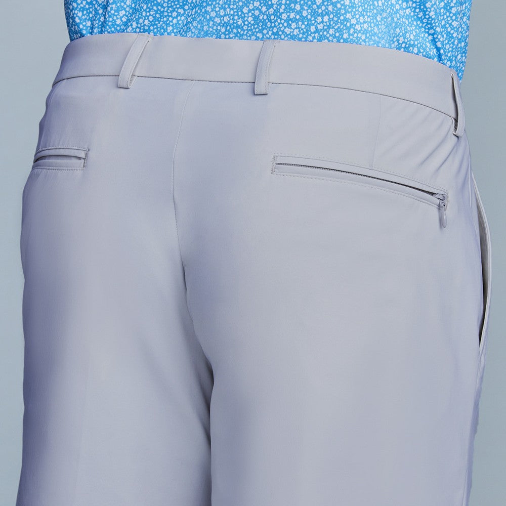 Detail of The Triton Short Pant State Of Matter color Silver made with ECONYLu00ae regenerated nylon
