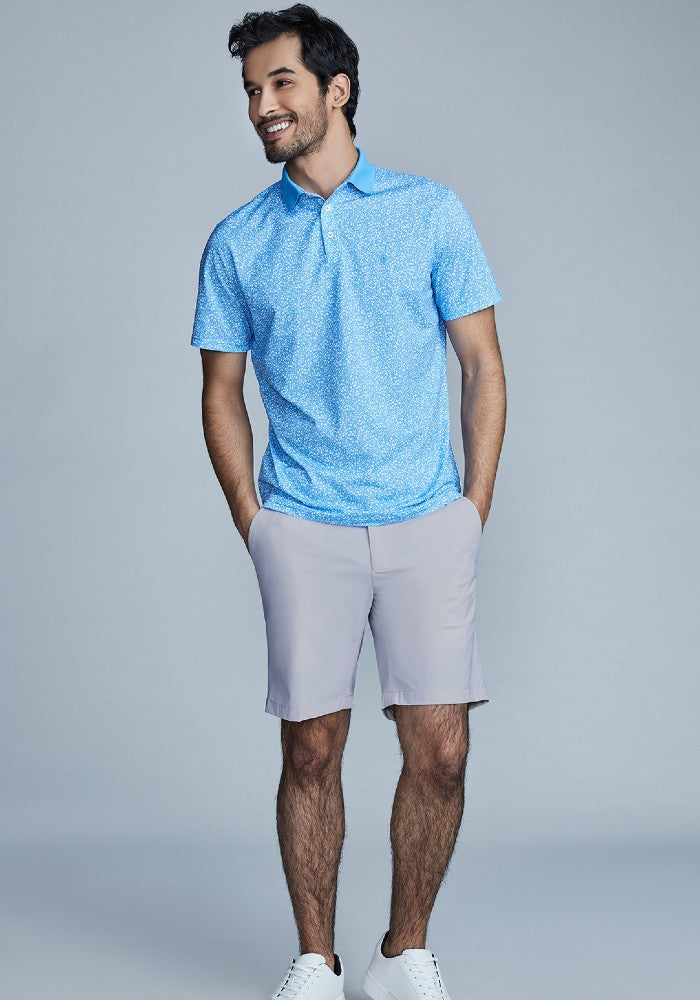 The Triton Short Pant State Of Matter color Silver made with ECONYLu00ae regenerated nylon