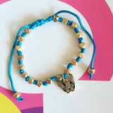 Bracelet with frenchie charm