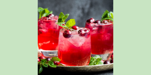 Easy Cranberry White Wine Spritzer