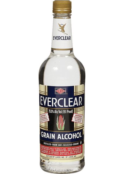 Everclear Grain Alcohol, Missouri, USA (1.75L HALF GALLON)- GROUND SHIPMENTS ONLY