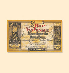 Old Rip Van Winkle Handmade 10 Year Old Kentucky Straight Bourbon Whiskey, Kentucky, USA (750ml)