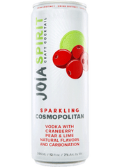 Joia Sparkling Spirit Cosmopolitan Craft Cocktail, USA (6 x 4pk case, 12oz cans)